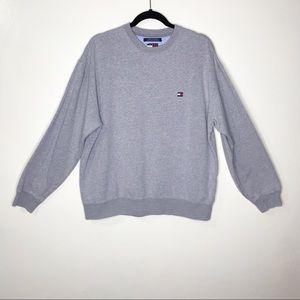 Tommy Hilfiger Gray Sweatshirt/Sweater